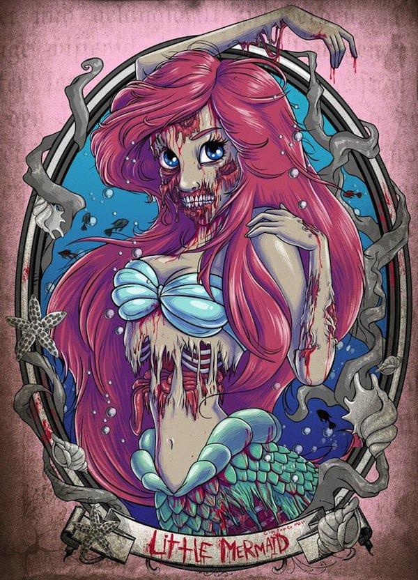 zombie-ariel
