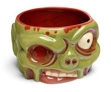 zombie bowl cereal empty