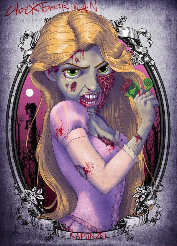 zombie-rapunzel