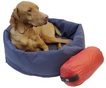 2-In-1 Dog Bed And Sleeping Bag camping