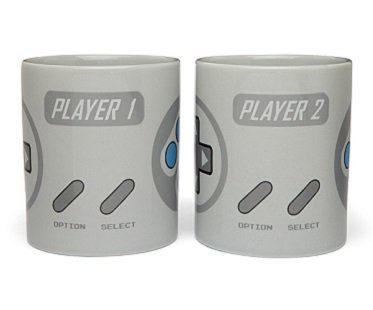 2-Player Gaming Mug Set cups