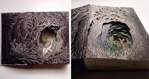 3D Art using Books