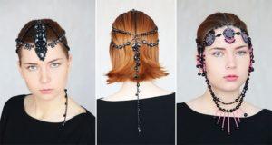 Beaded Headpieces