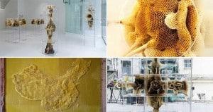 Beeswax sculpture Art