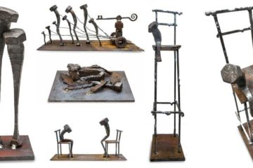blacksmith nuts and bolts art
