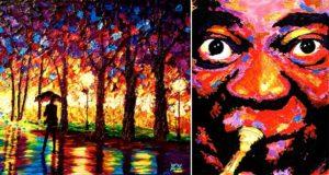 Blind Painter John Bramblitt
