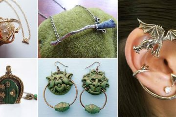 Book Inspired Jewelry