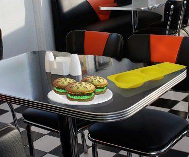 Burger Cake Molds