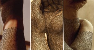 Artist Ronit Bigal Draws Calligraphy On Peoples Bodies