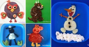 Cartoon Character-Themed Meals