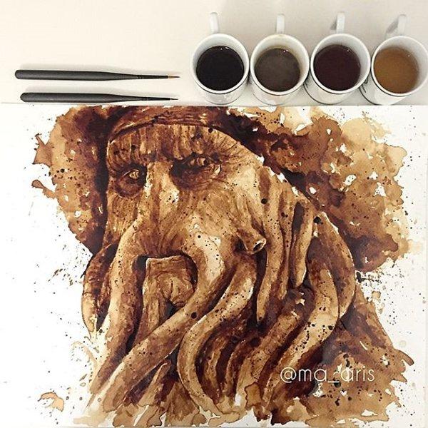 Coffee-Paintings-davey-jones