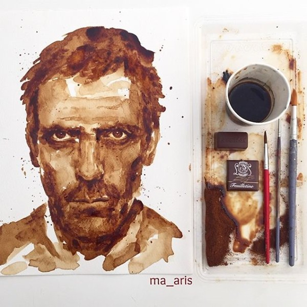 Coffee-Paintings-hugh-laurie