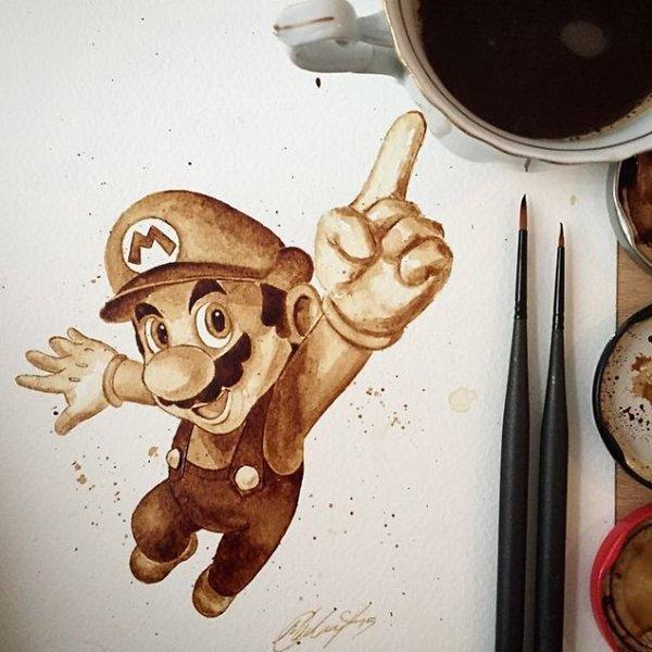 Coffee-Paintings-mario