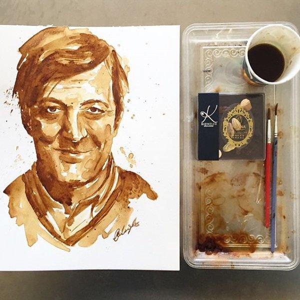 Coffee-Paintings-stephen-fry