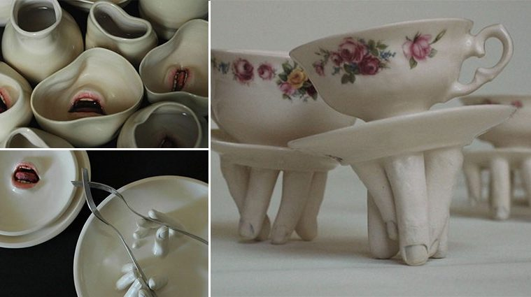 Creepy Tableware