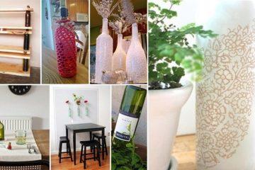 DIY Wine Bottle Projects