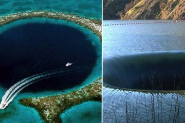 Deep And Scary Holes on earth