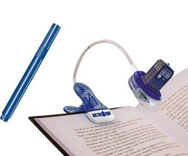 Doctor Who Book Light And UV Pen tardis