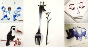 Drawings Created With Objects