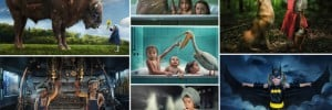 Father Photographs Photoshop Daughters
