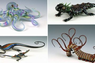 hand blown glass creatures
