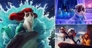 Grumpy Cat Does Disney