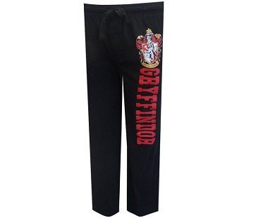 Harry Potter Gryffindor Lounge Pants pajamas