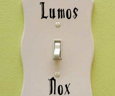 Harry Potter Lumos Nox Decal
