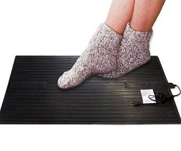 Heated Foot Warmer Mat socks