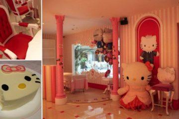 Hello Kitty Restaurant Beijing