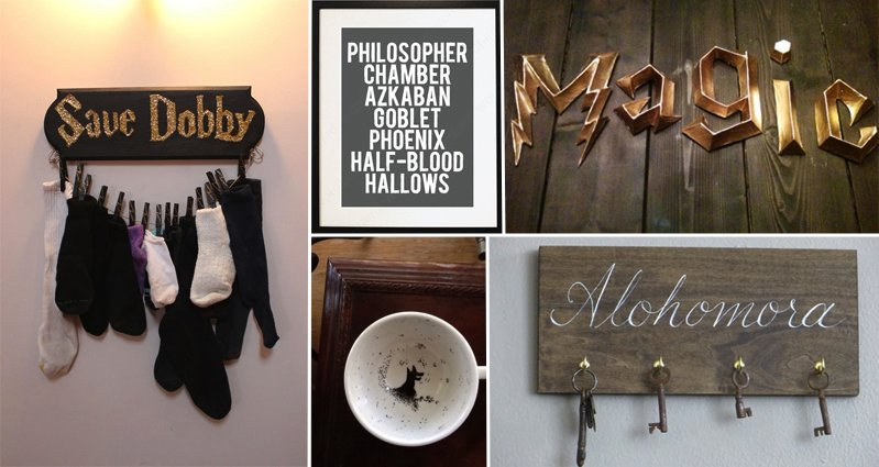 14 Awesome Items Only True Harry Potter Fans Will ... | 799 x 425 jpeg 65kB