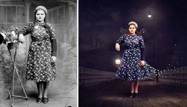 Jane-Long-vintage-photo-dress