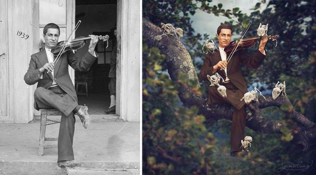 Jane-Long-vintage-photo-violin