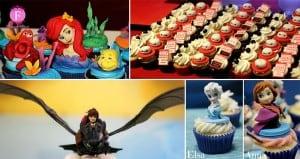 Movie Inspired cupcakes