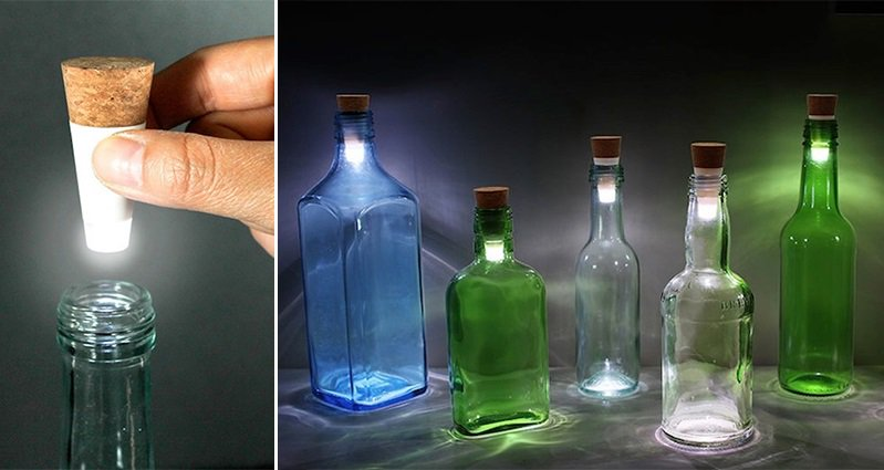 Re Use Old Bottles By Turning Them Into Stylish Lamps With