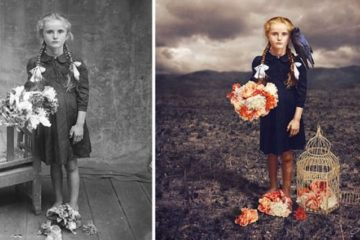 Turning black and white photos to coloured