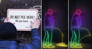 Public Urinators Germany Superhydrophobic Substance