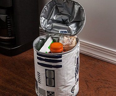 R2-D2 lunch bag full