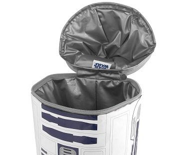 R2-D2 lunch bag open