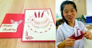 popup Renewal Greetings Cards china