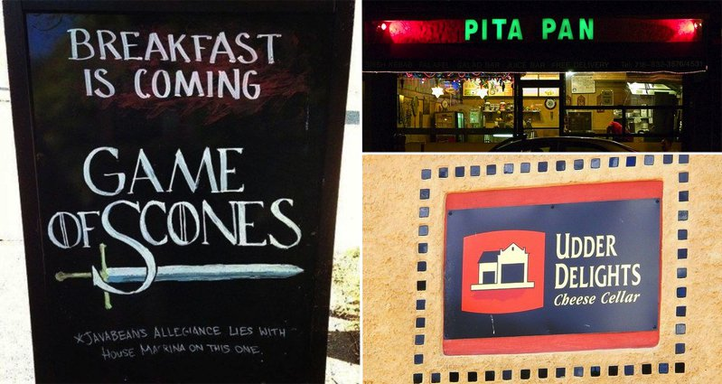 13 Restaurants With 'Punny' Names