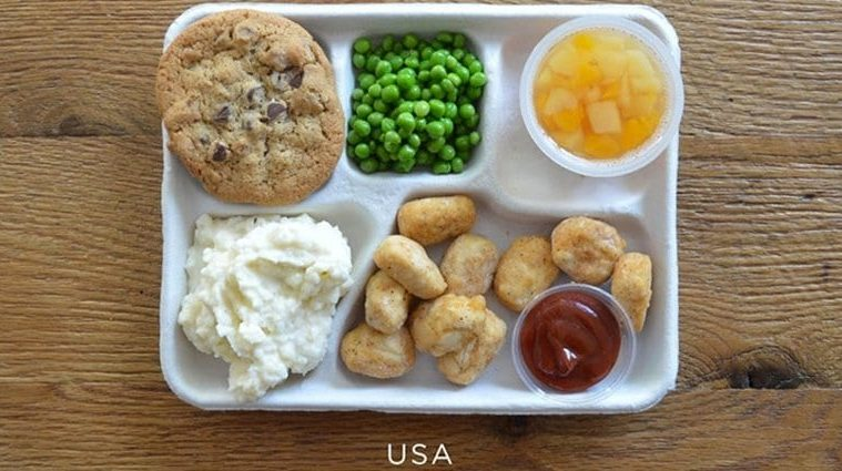 School Lunches From All Over The World