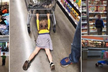 Shopping With Children Fails
