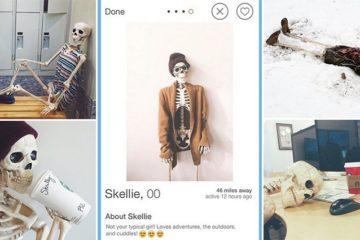 skellie Skeleton Instagram Account