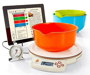 Smart baking scale for Cocktail app and scales