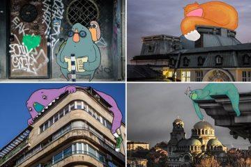 Sofia Monsters Bulgarian City