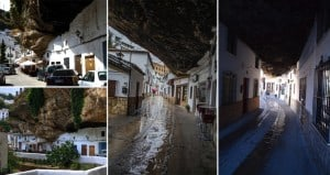 Spanish town of Setenil de las Bodegas Living Under A Rock