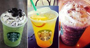 Starbucks Secret orders Menu