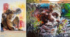 Street Art Meets History