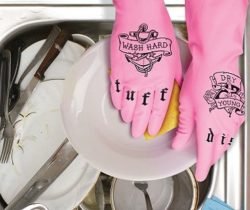 Tattooed Dish Gloves